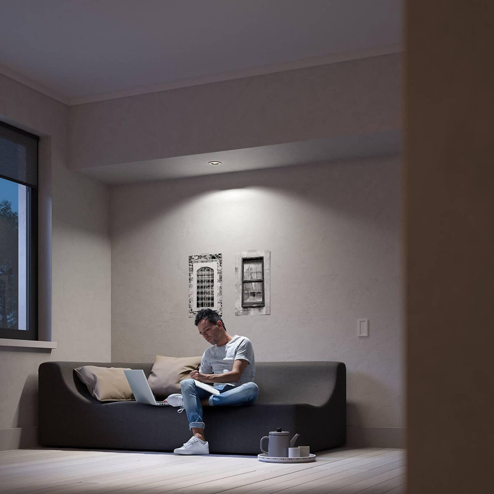 Philips Hue Milliskin LED-downlight rund, alu