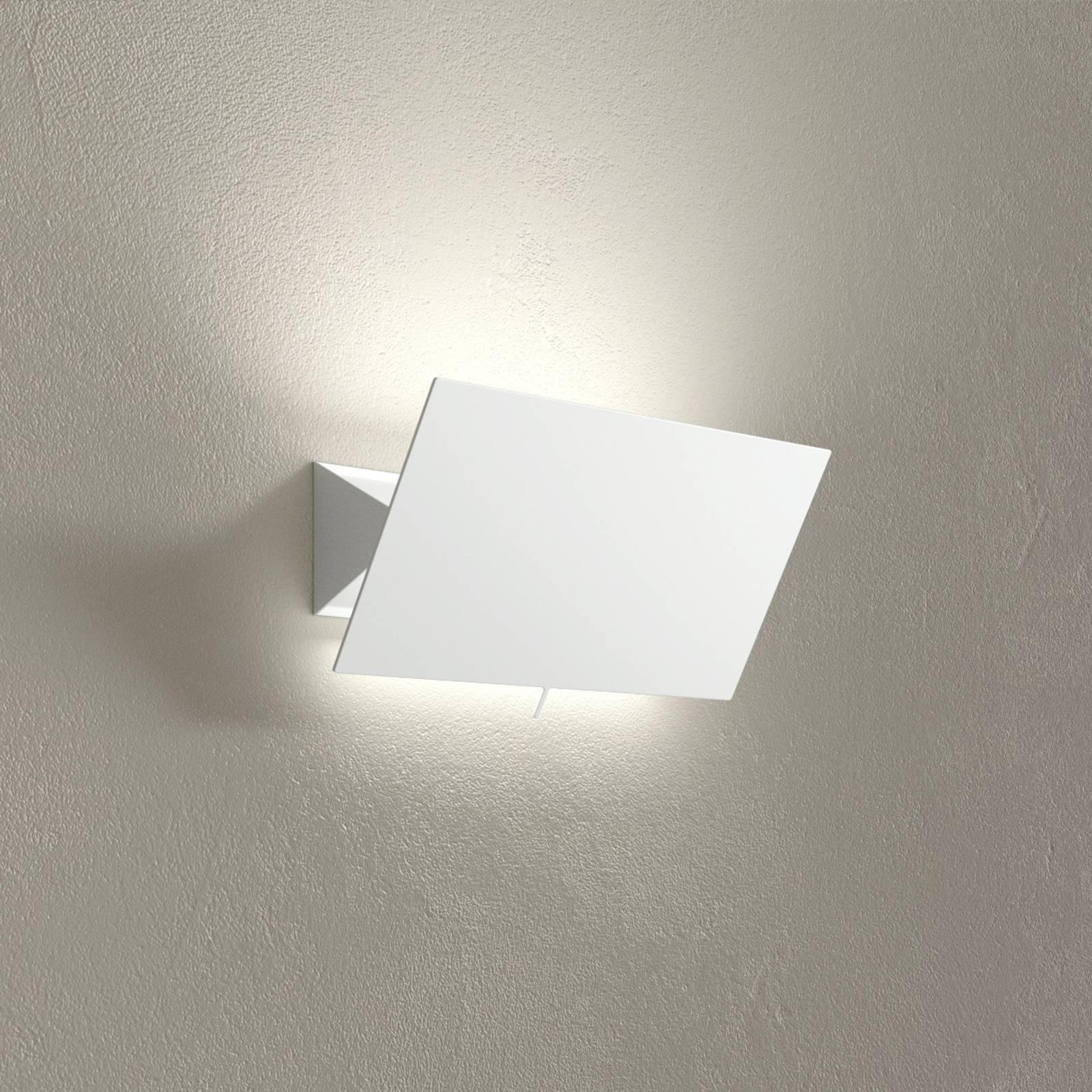 LED-seinävalaisin Shadow Piccola valkoinen, 33 cm