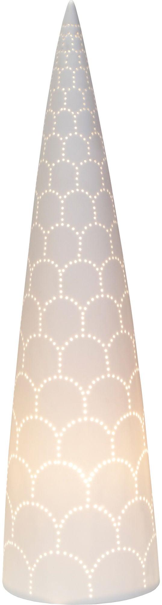 Globen Lighting Peak Pöytävalaisin XL, Valkoinen