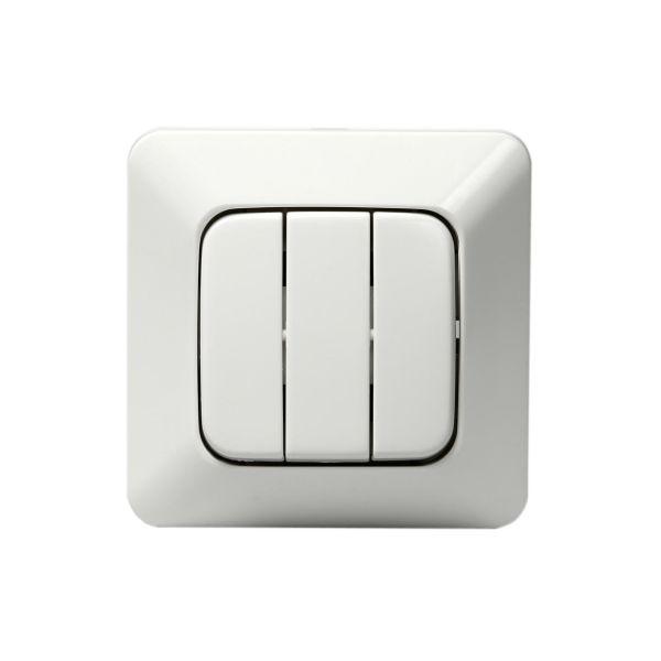 ABB 10631U4 Strømstiller innfelt, IP20, uten klor 3 x 1 pol