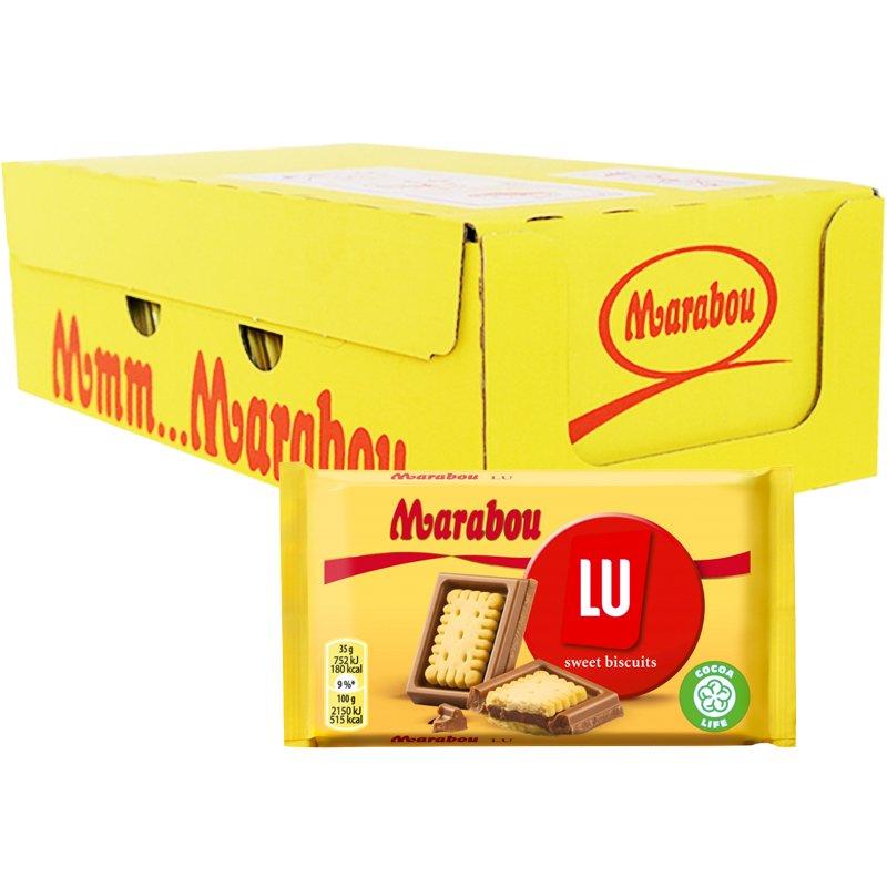 """Hel Låda Maraboukakor """"Sweet Biscuits"""" 20 x 35g - 43% rabatt"""