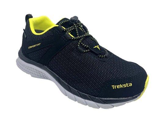 Treksta Clip GTX Sneaker, Black/Lime, 25