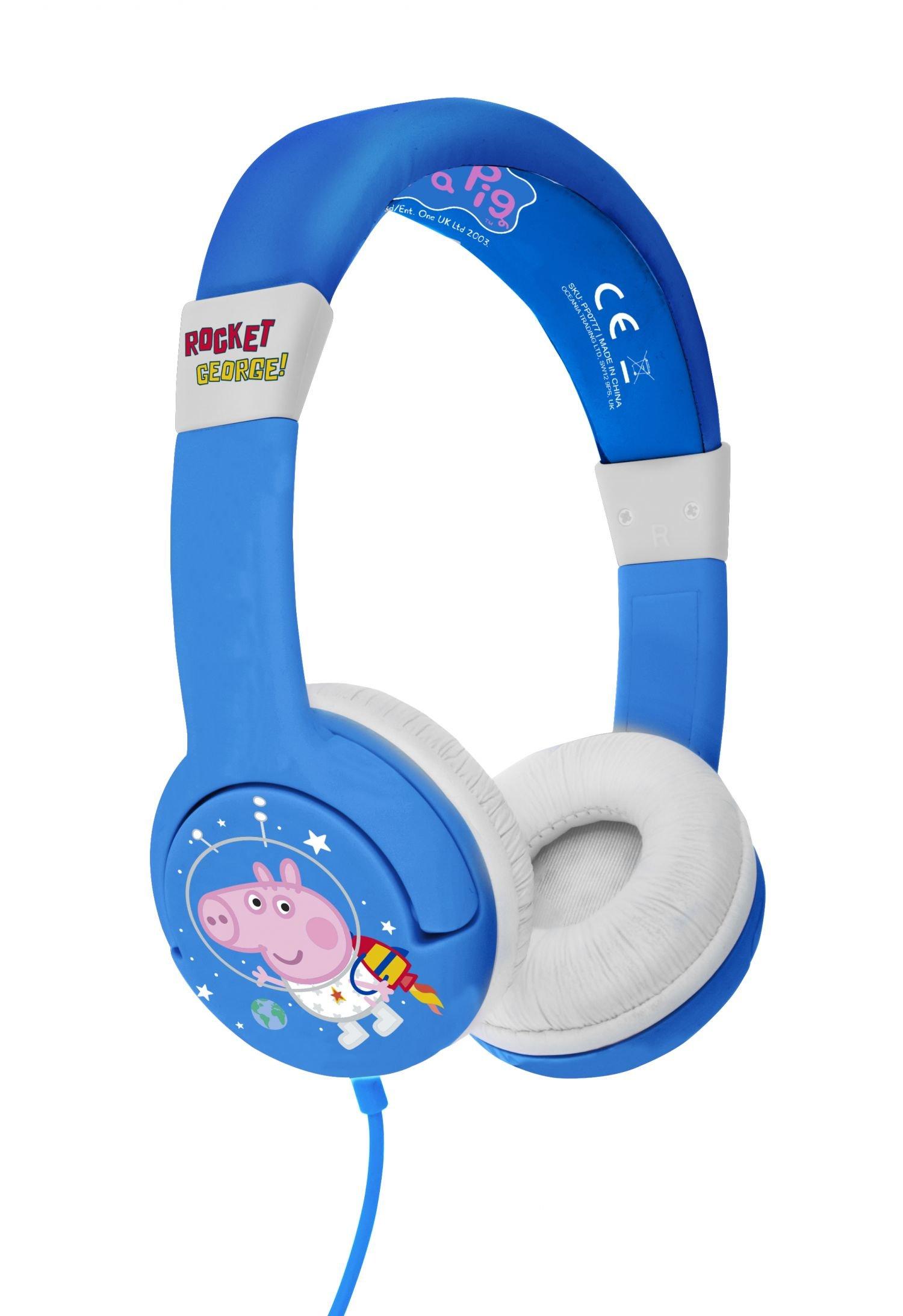 OTL - Junior Headphones - George Pig Rocket (856538)