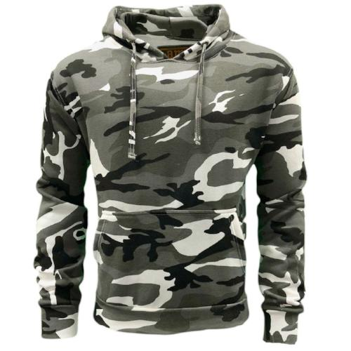 Game Technical Apparel Unisex Hoodie Various Colours Camo Hoodie - Urban M