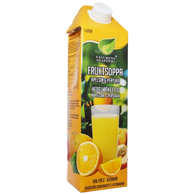 Fruktsoppa Apelsin & Persika - 37% rabatt