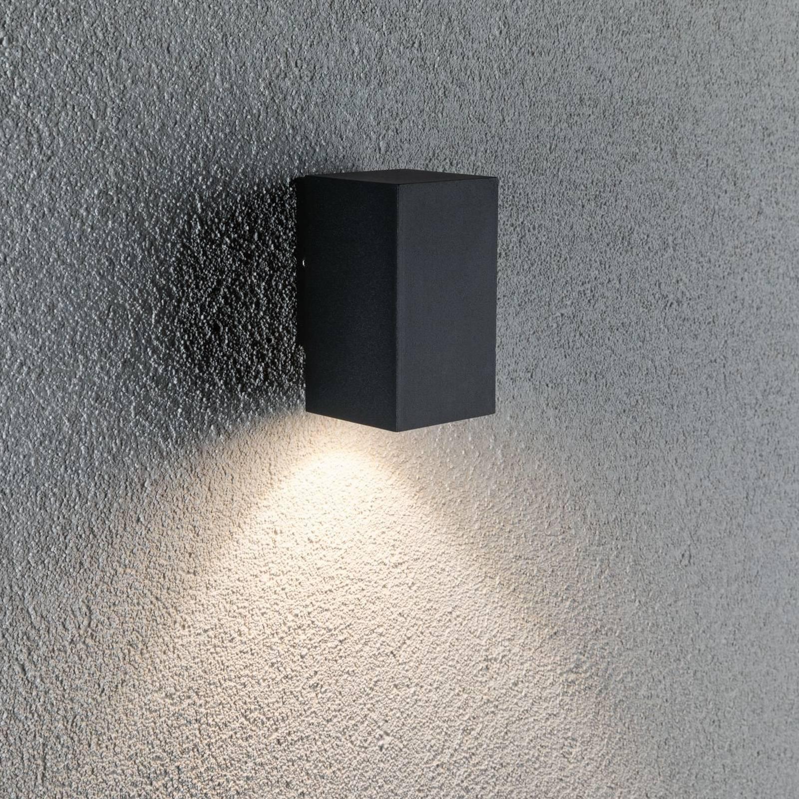 Paulmann Flame utelampe 1 lys 10,3 cm antrasitt