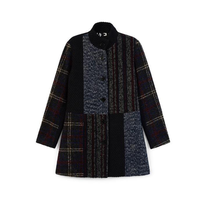 Desigual Women's Coat Blue 184233 - blue 46