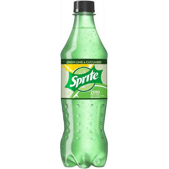 "Läsk ""Sprite Lemon Lime & Cucumber Zero"" 50cl - 50% rabatt"
