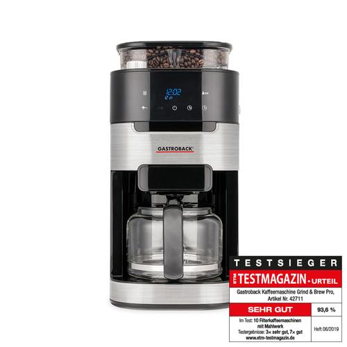 Gastroback 42711 Kaffebryggare - Silver