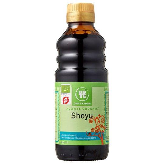 Urtekram Food Shoyu Sojasås, 250 ml