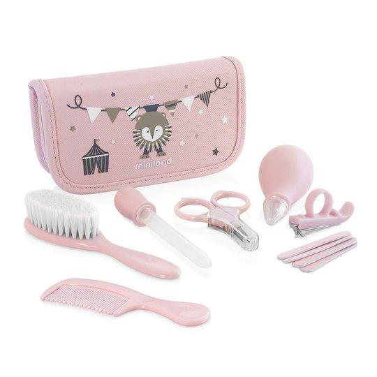 Miniland Baby Kit Sett Hygieneartikler, Rose