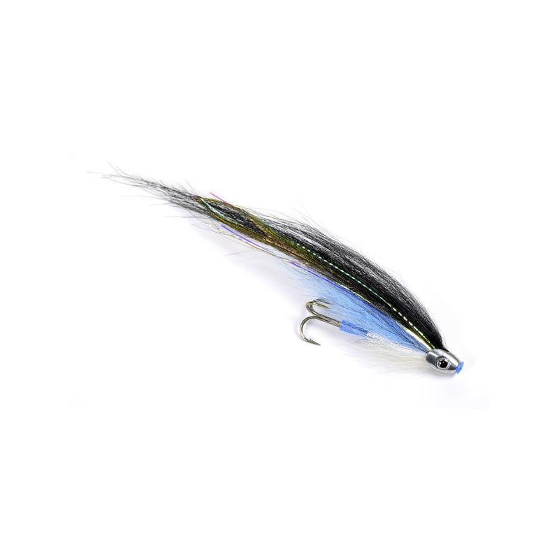 ScullRay - Black & Blue 6cm Kjøp 12 fluer få gratis flueboks