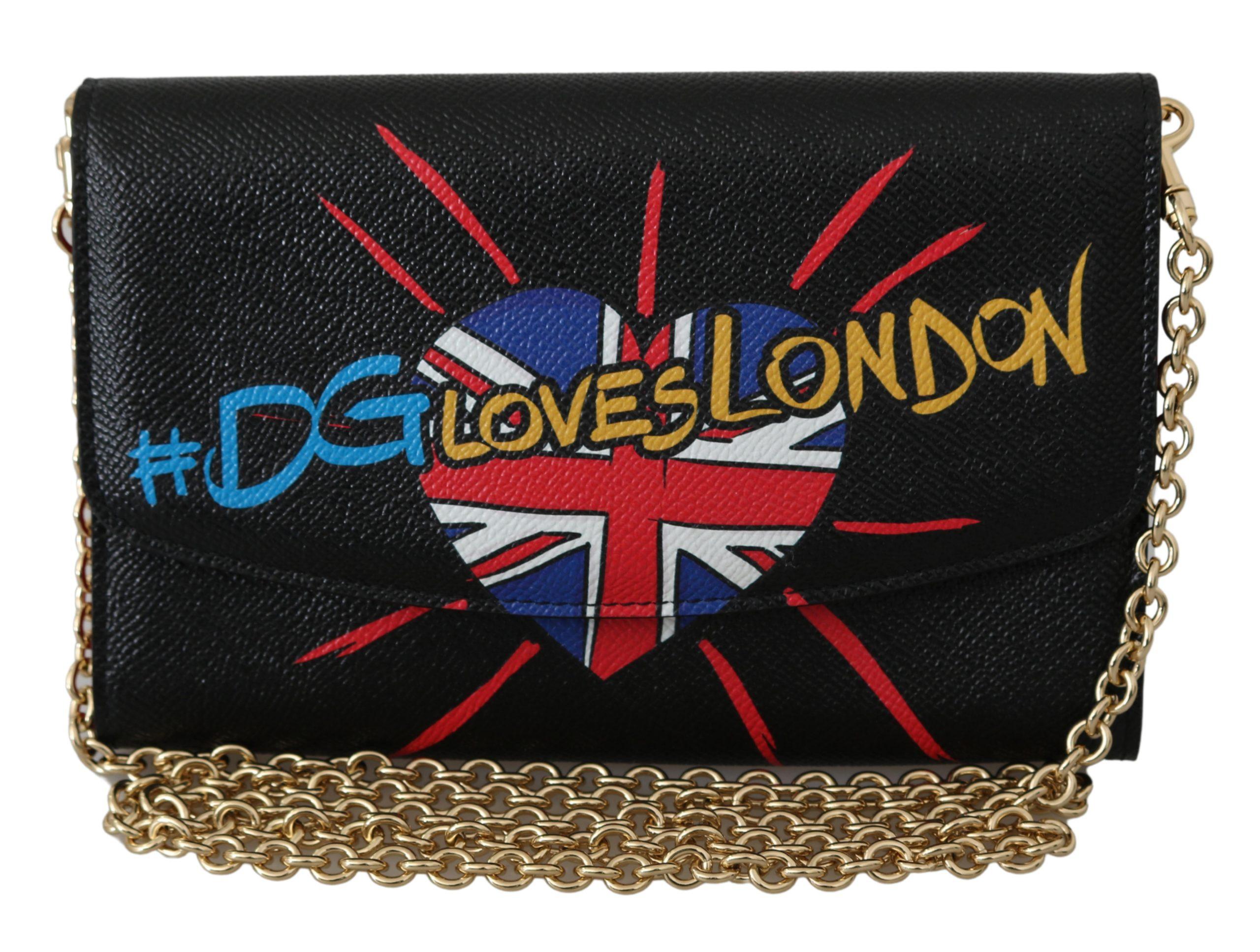 Dolce & Gabbana Women's Leather Shoulder Bag Black VAS9568