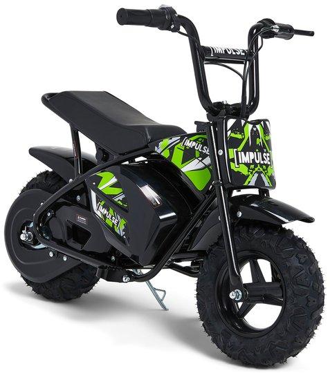 Impulse Elektrisk Motorsykkel 250W, Grønn