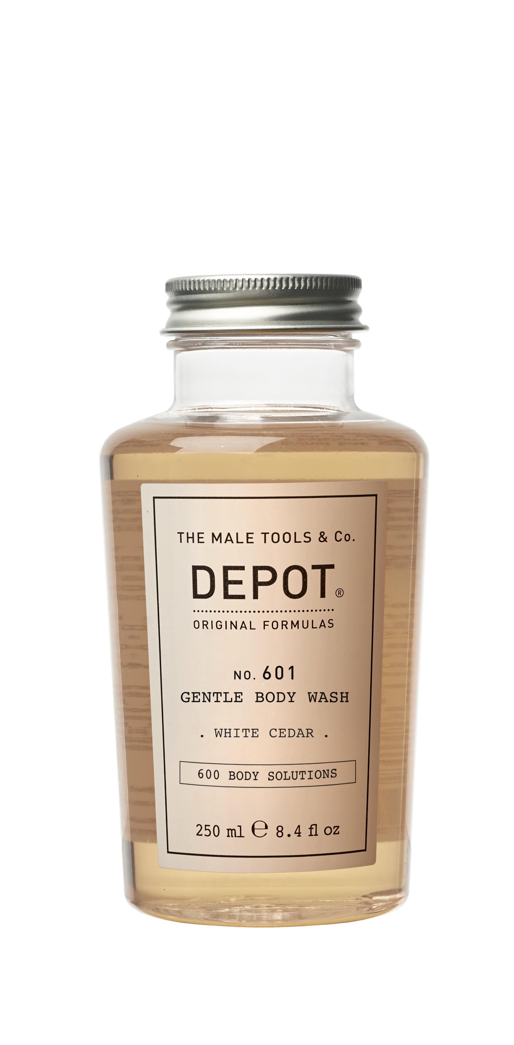 Depot - No. 601 Gentle Body Wash White Cedar - 250 ml