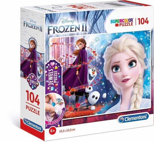 Disney Frozen Puslespill 2-pack, 104 Biter