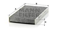Raitisilmasuodatin MANN-FILTER CUK 2956
