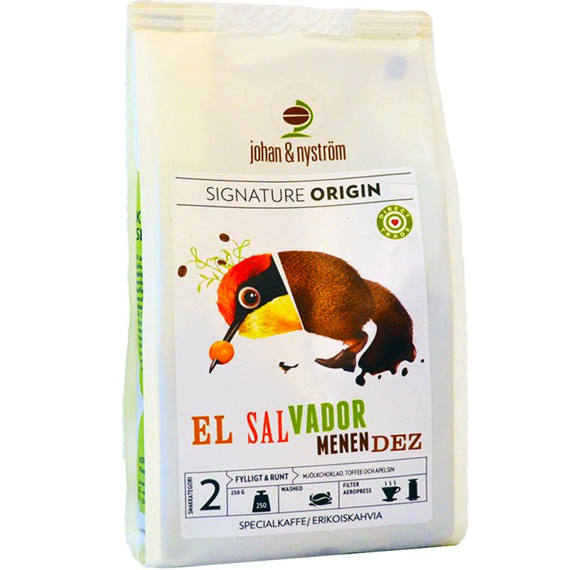 """Kaffebönor """"El Salvador Menen Dez"""" - 61% rabatt"""