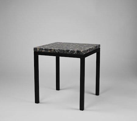Piccolo balkongbord 30x30x30 - Svart underrede, Firenze dark grey