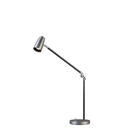 Dex Bordlampe Oksidert grå