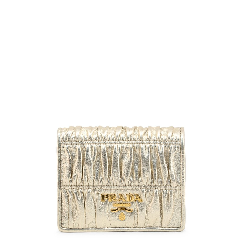 Prada Women's Wallet Yellow 323129 - yellow NOSIZE