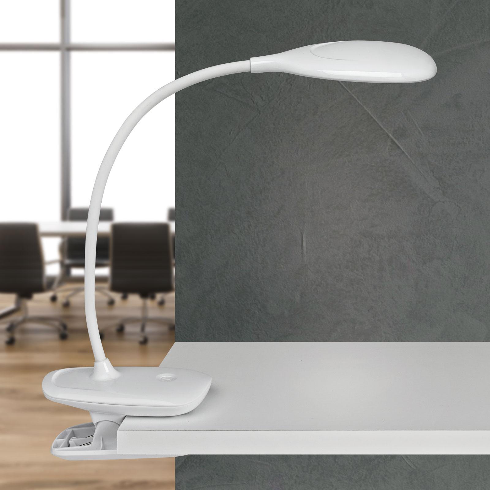 LED-työpöytälamppu MAULjack, akku, himmennettävä