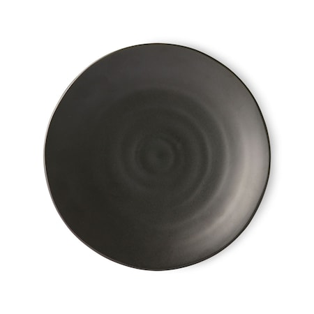 Kyoto ceramics Japansk Mattallrik Matt black