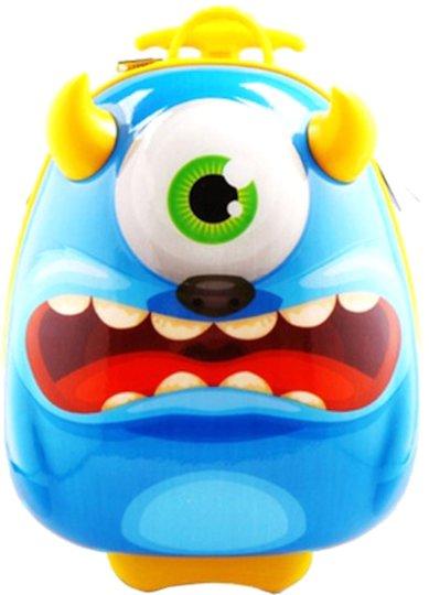 KID zoo Trillekoffert Monster, Blå