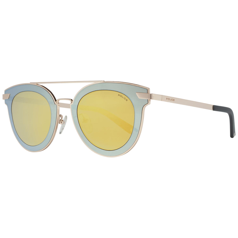 Police Men's Sunglasses Gold SPL349 47300G