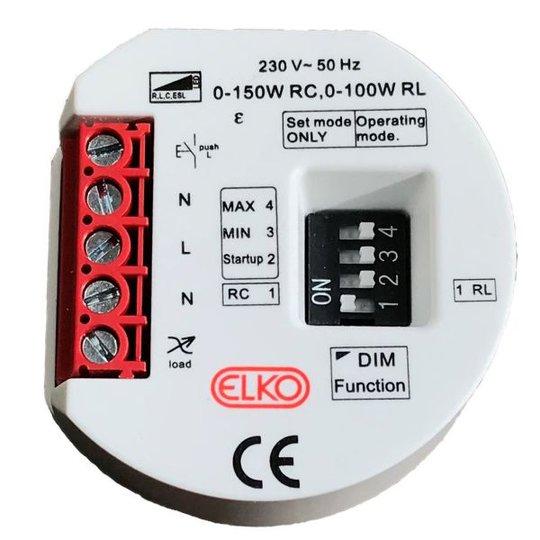 Elko EKO06966 Rasiahimmennin 3-johtiminen, 150W, LED