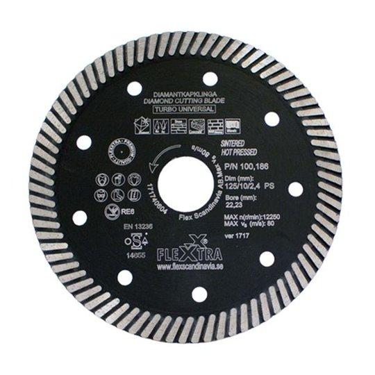 Flexxtra 100186 Timanttiterä 125 mm