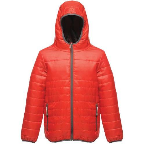 Regatta Kid's Stormforce Thermoguard Thermal Jacket Various Colours TRA454 - Classic Red 32