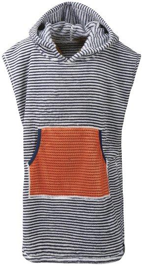 Didriksons Pier Poncho, Navy Simple Stripe, 80-90