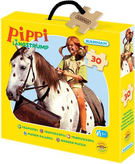 Kärnan Trepuslespill Pippi Langstrømpe 30 Biter
