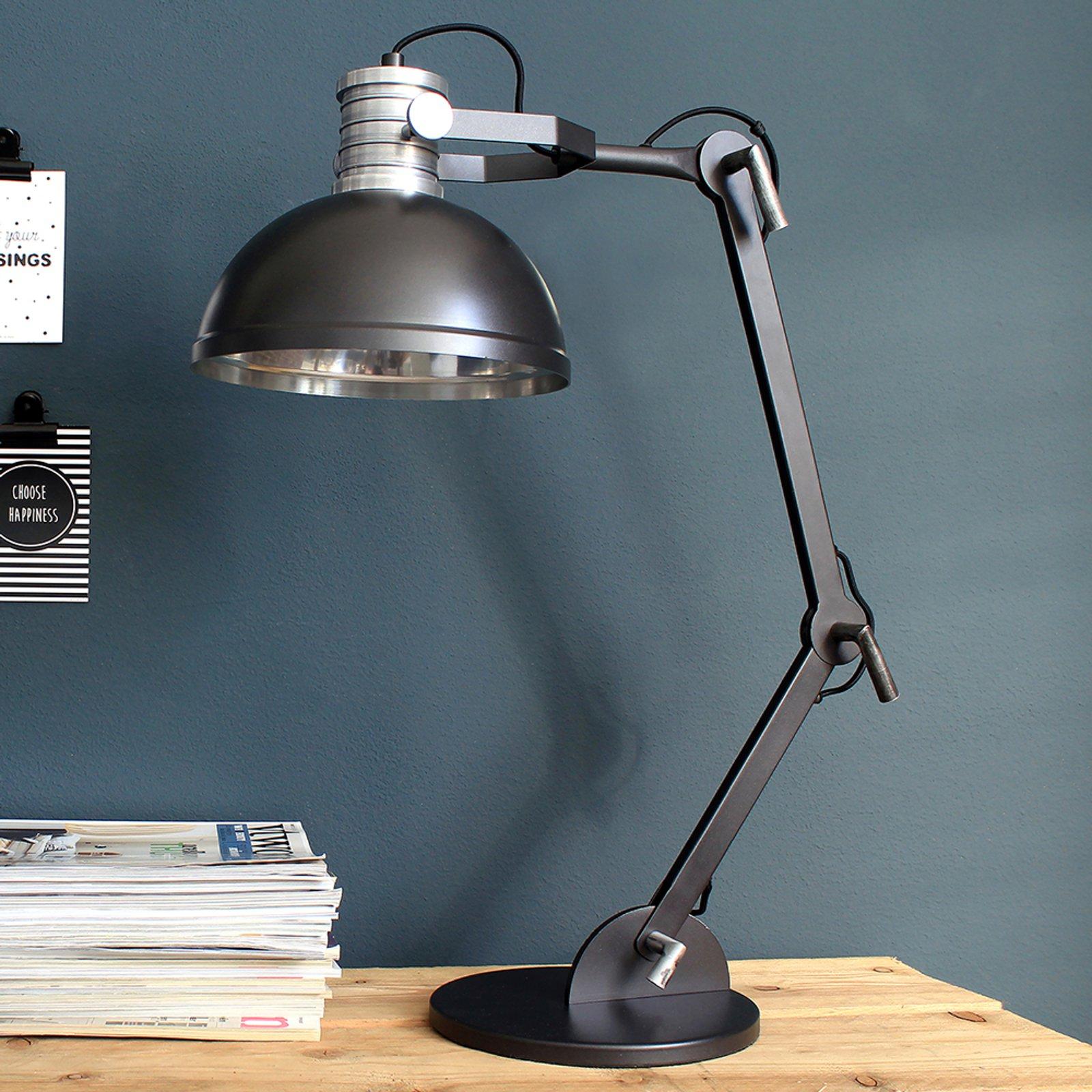 Bordlampe Brooklyn i svart