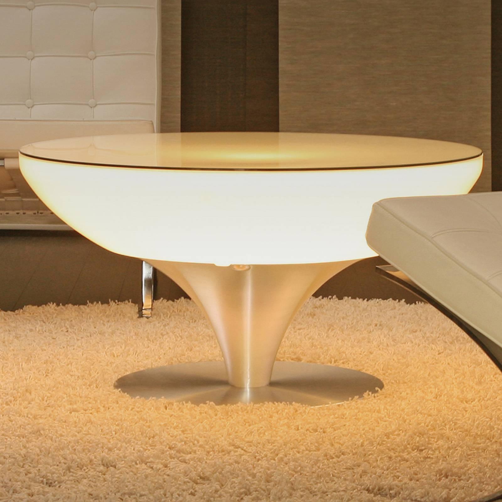 Monivärisesti valaiseva Lounge Table LED Pro 45cm