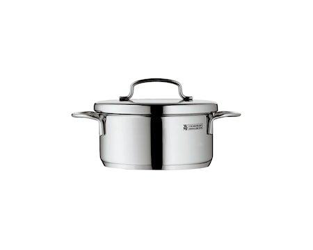 Mini Cook Lav Gryte 0,9L med lokk, Stål