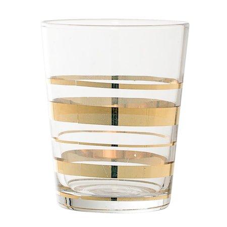 Glass Gullkant 8x10 cm