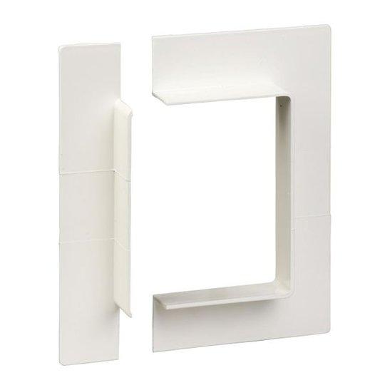 Schneider Electric 5594220 Seinäkehys 110 x 25 mm, valkoinen