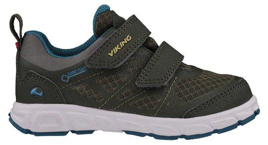 Viking Veme Vel GTX Sneaker, Huntinggreen/Olive, 22