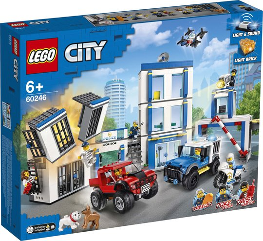 LEGO City Police 60246 Politistasjon