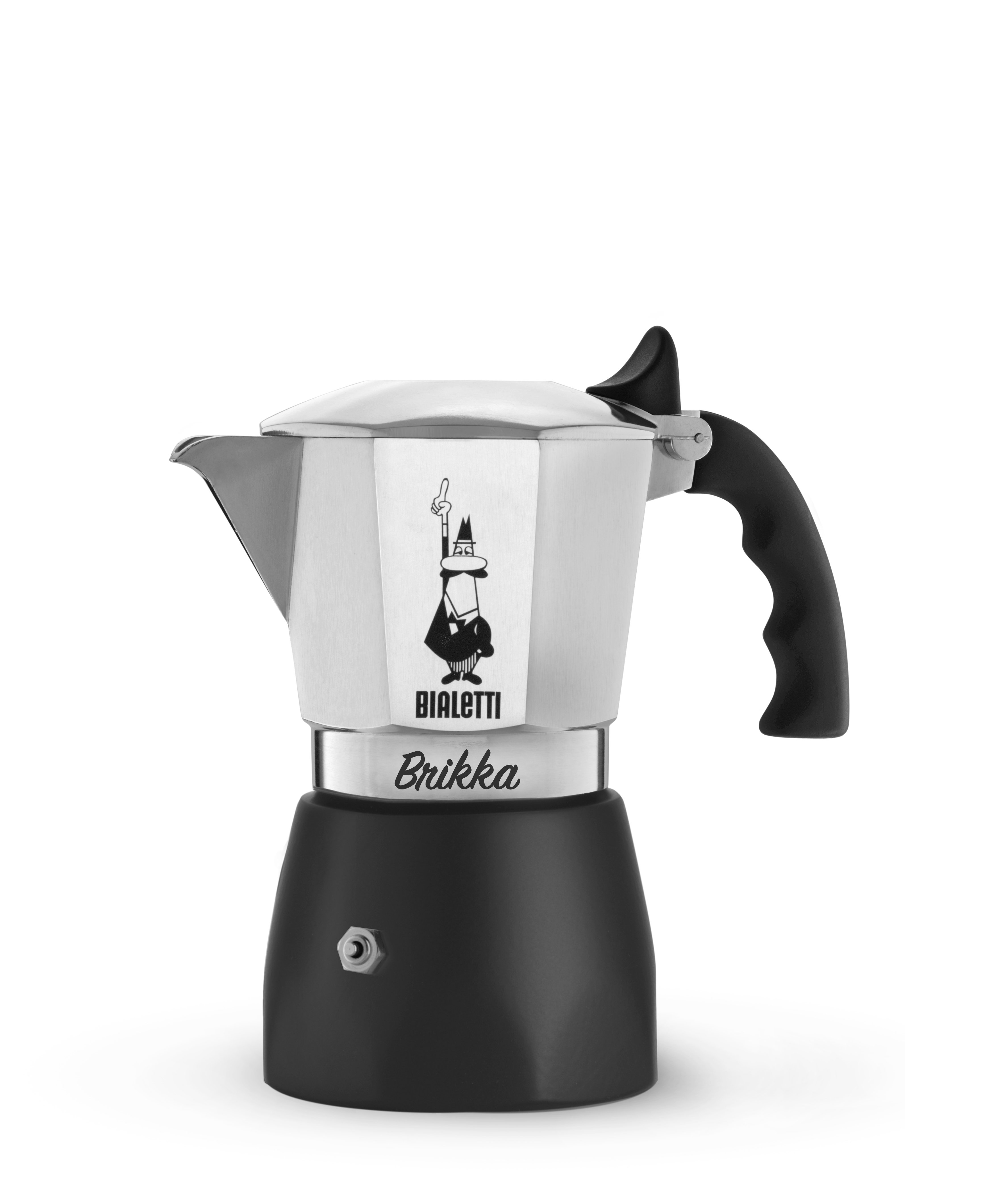Bialetti - Brikka Edition 2.0 - 2 Cups - Silver (7312)