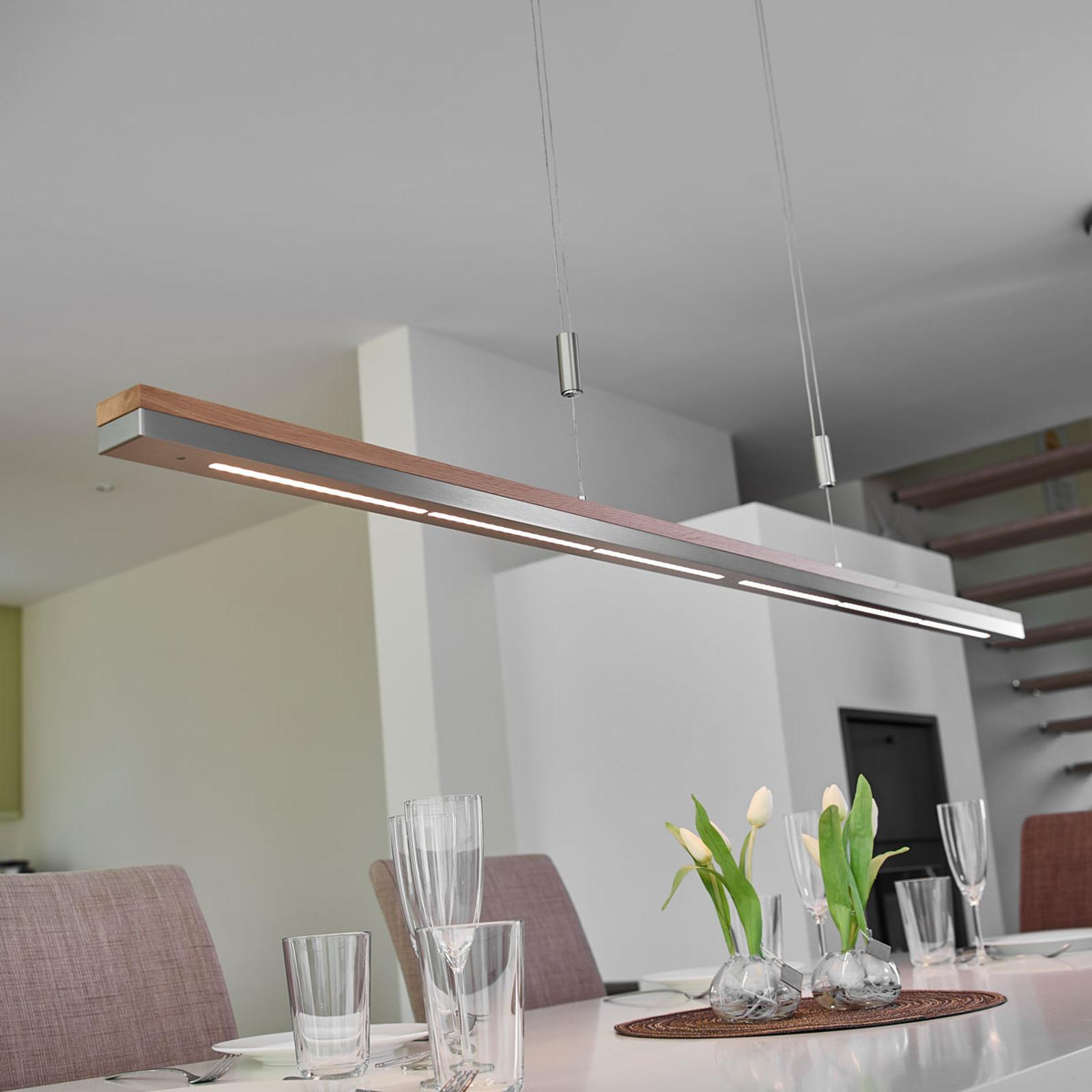 LED-riippuvalaisin Elna, himmennettävä, 158 cm