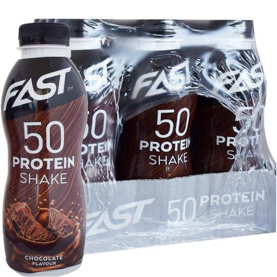 Proteinshake Choklad 12-pack - 29% rabatt