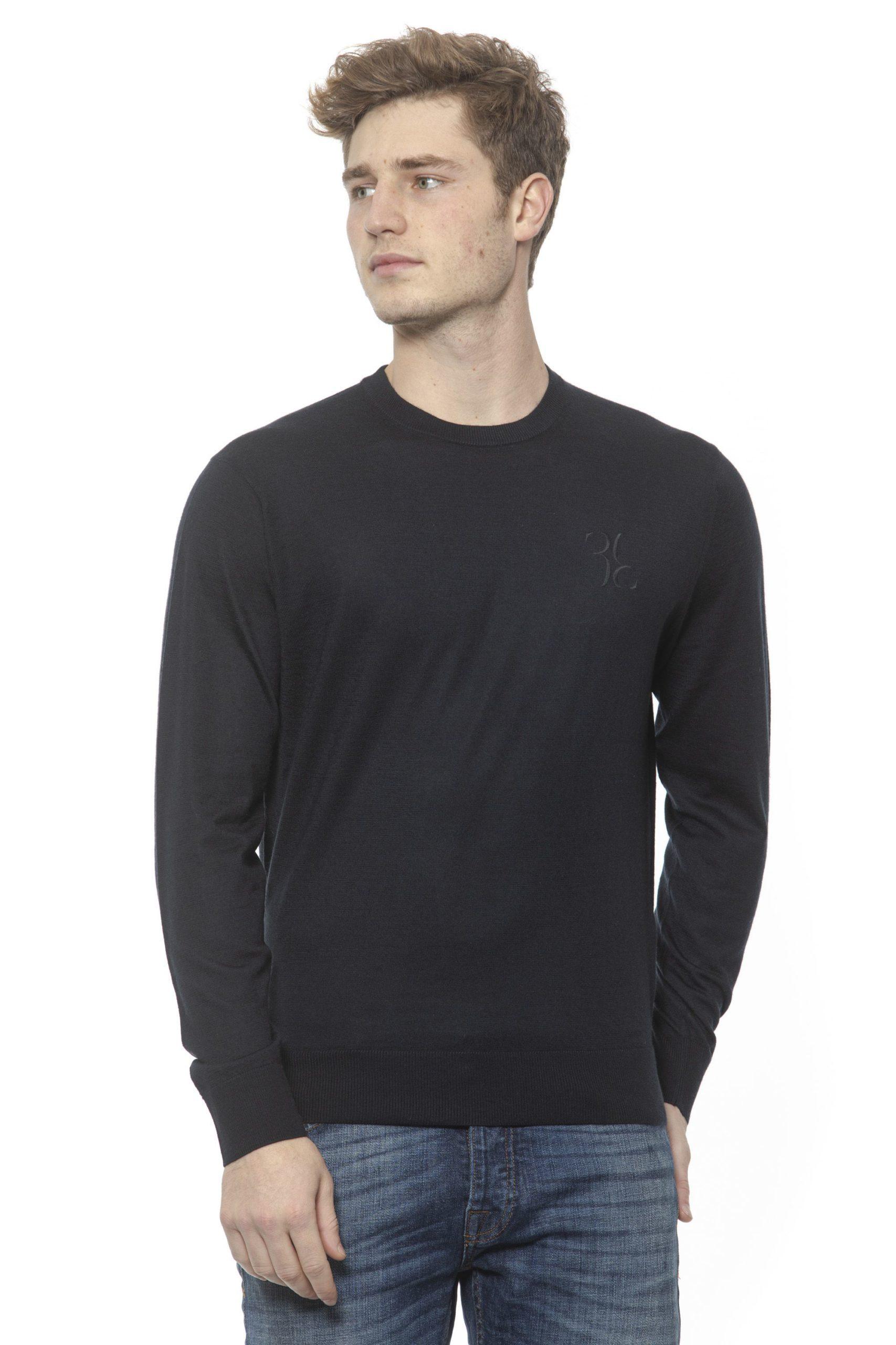 Billionaire Italian Couture Men's Sweater Blue BI1313567 - M