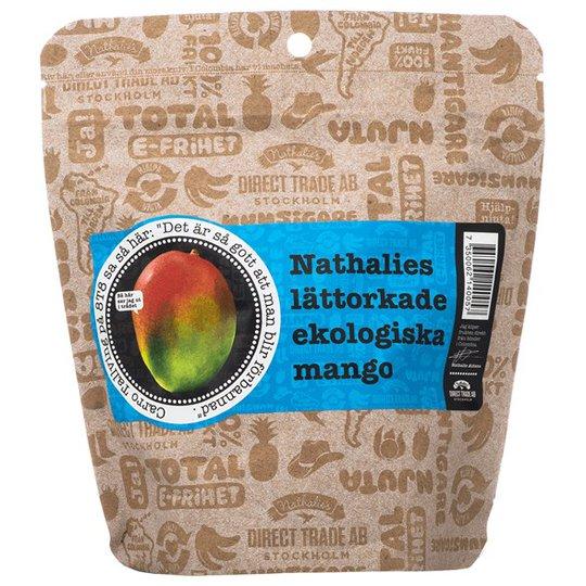Nathalies Ekologisk Lättorkad Mango, 130 g