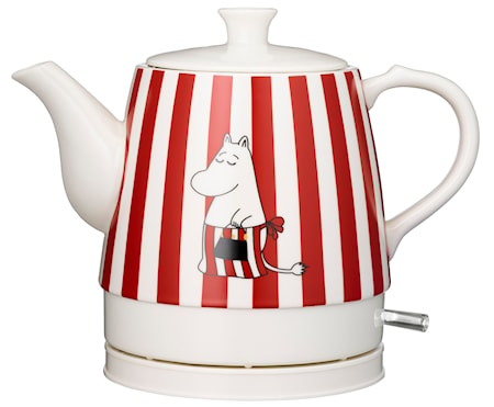 Romance Keramisk Vattenkokare Moomin red design 0,8L