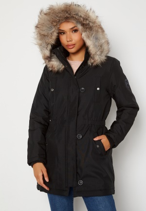 ONLY Iris Fur Winter Parka Black XL