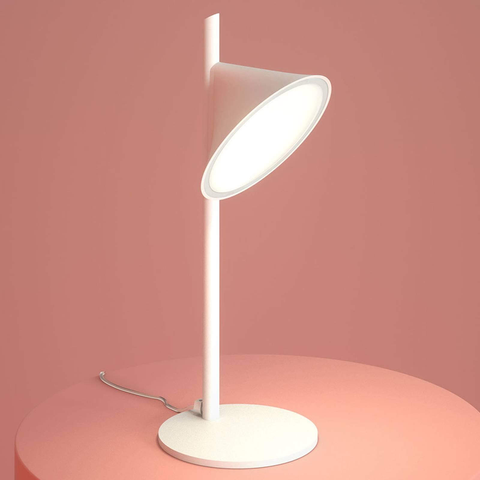 Axolight Orchid LED-pöytälamppu, valkoinen