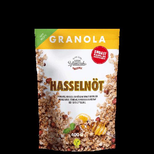 Granola Hasselnöt, 400 g